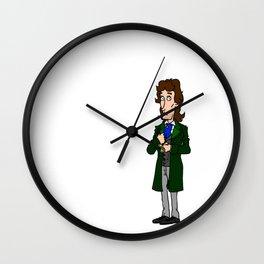 8th Doctor Wall Clock