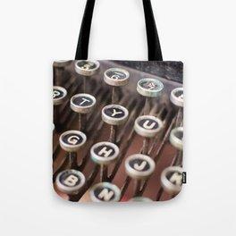 Antique typewriter keys Tote Bag