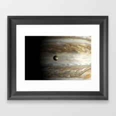 Io Framed Art Print