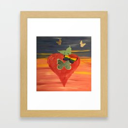Birthing of the Promises that you thought were lost Framed Art Print