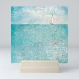 Boat (variation) Mini Art Print