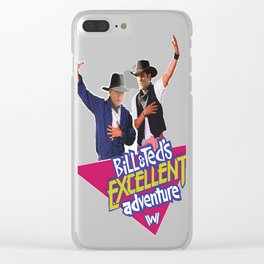 Westworld Bill and Ted Clear iPhone Case