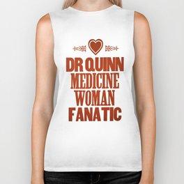 Dr Quinn Medicine Woman Letterpress Poster - Fanatic Biker Tank