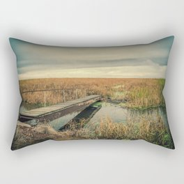 Cheyenne Bottoms Refuge, Kansas Rectangular Pillow