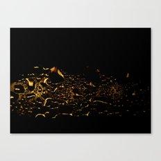 Raindrops on Glass #1 Canvas Print