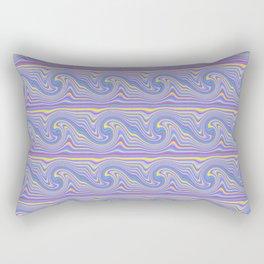 Wavy Wave Rectangular Pillow