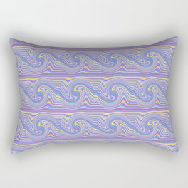 Wavy Wave Rectangular Pillow