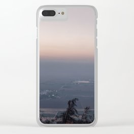 Sunrise at Hula vallery, Israel Clear iPhone Case