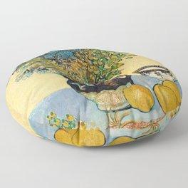 Vincent Van Gogh - Still Life Floor Pillow