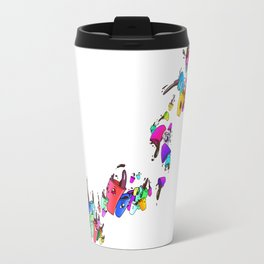 Coffee Color Overload Travel Mug