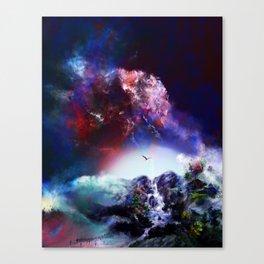 Eine Andere Seite des Lebens Canvas Print