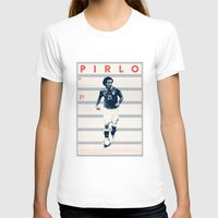 pirlo T-shirts featuring Pirlo by Dylan Giala