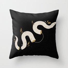 Ritual Snake Throw Pillow