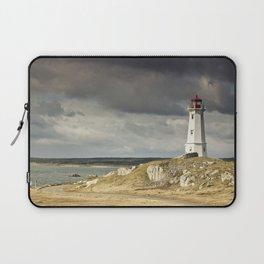 Louisbourg Lighthouse Laptop Sleeve