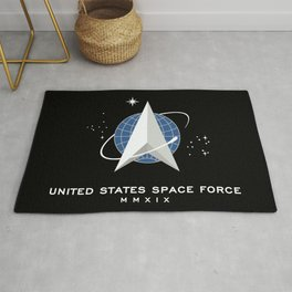 Space Force Flag Rug