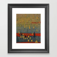 isoceles Framed Art Print