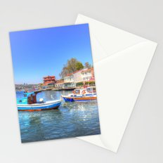 Boats on The Bosphorus Istanbul Stationery Cards