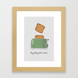 It's Getting Hot In Here Framed Art Print