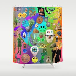 DIB DABS Shower Curtain