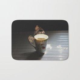 warm tea Bath Mat