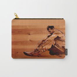 Failure is not an option - acrylic on wood  Carry-All Pouch