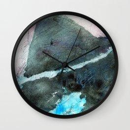 Continental Drift Wall Clock