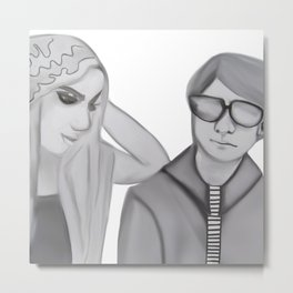 Andrew Warhola Metal Print