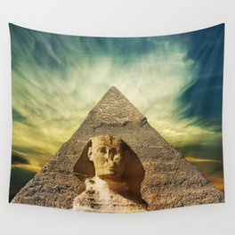 Piramid in Egypt Wall Tapestry
