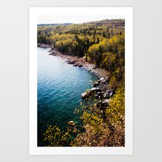 take me to wonderland. Art Print
