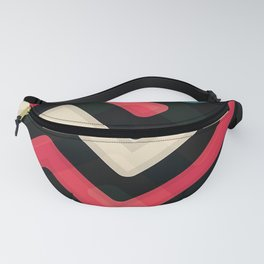 colored streets Fanny Pack