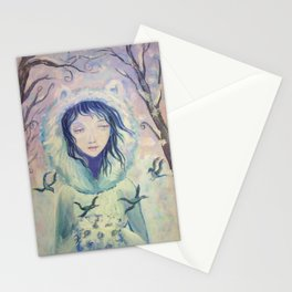 Winter For A Year Stationery Cards