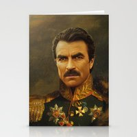 replaceface Stationery Cards featuring Tom Selleck - replaceface by replaceface