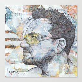 Bono - I Still Haven't Found What I'm Looking For Canvas Print