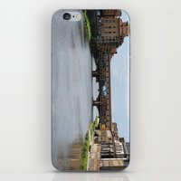 florence iPhone & iPod Skins featuring Florence by Dreamanda