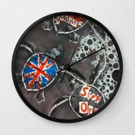 A Calling Wall Clock