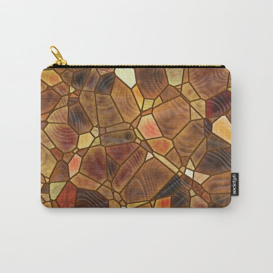 Stained Glass - Copper Carry-All Pouch