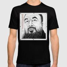 Ai Weiwei Black Mens Fitted Tee MEDIUM