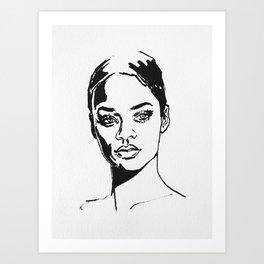 Riri Art Print