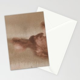Watercolor Clouds Stationery Cards