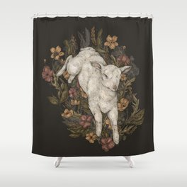 Lamb Shower Curtain