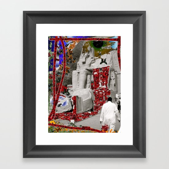 Egypt and Jordan Framed Art Print