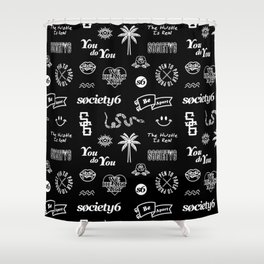 Society6 Pattern Shower Curtain