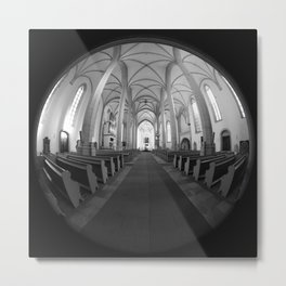 St. Mary's Church St. Mary's parish church in Torgau BW Metal Print