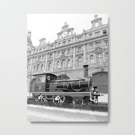 haydarpasa train station Metal Print