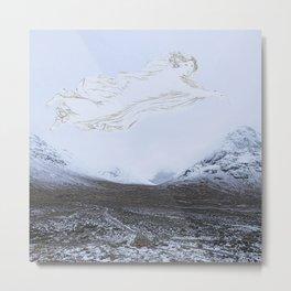 Spirit of the glen - glen Etive Scottish Highlands Metal Print