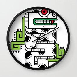 Koru-Fern Serpent Wall Clock