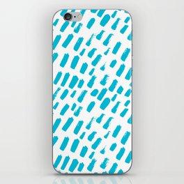 Dashing Darling - Aqua iPhone Skin