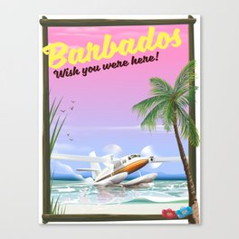 Barbados! Wish you were here! Canvas Print