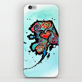Alaska Love iPhone Skin