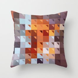 Sophistication of Color Throw Pillow